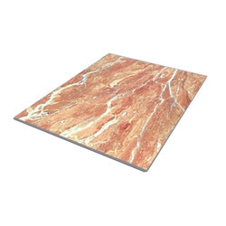Polished, Glossy PVC Marble Sheet