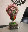 Hyperboles Artificial Bonsai Plant With Wooden Pot