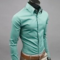 Plain shirt exporters from india for Linen shirts for mens in chennai