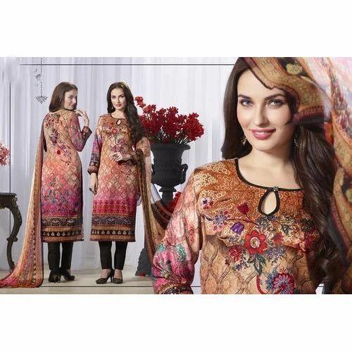 05d1db46dd Ladies Designer Suits - Printed Ladies Suits Manufacturer from Surat