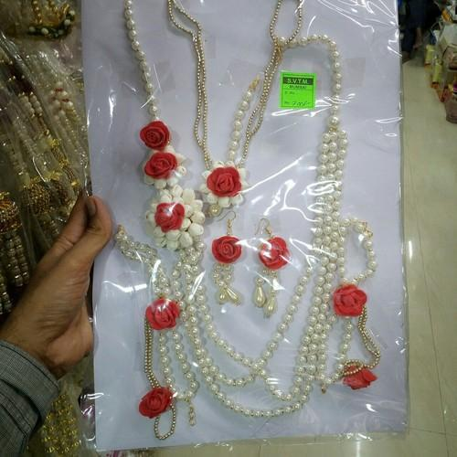 Flower Jewellery Artificial फ ल क आभ षण क ल ए