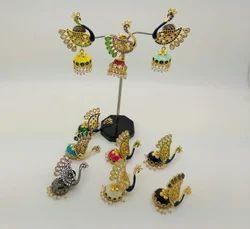 Peacock Designer Jhumka