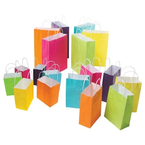 Colored Paper Shopping Bag