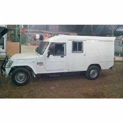 Cash Van Bulletproof Body