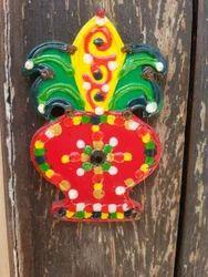 Door Decoration Wooden Kalash