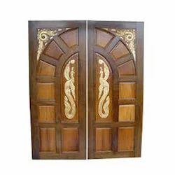 Diamond Exterior Designer Wooden Door, For Home