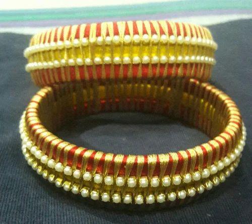 Hand Made Silk Thread Designer Kare