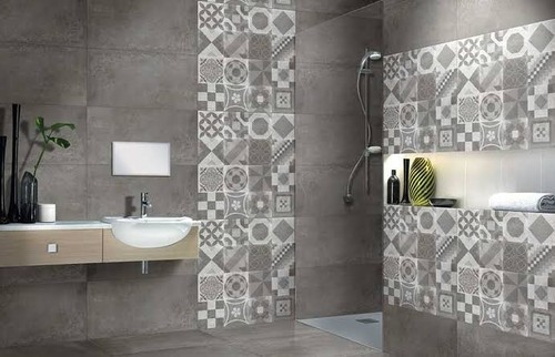 Ceramic Kajaria Bathroom Tiles Size Medium Rs 380 Box