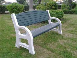 Plastic Garden Bench  5u0027 Long