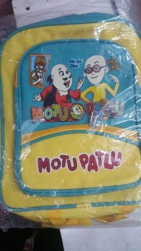 Aishu Bag House Wholesale Trader Of Kids Motu Patlu Bag Kids