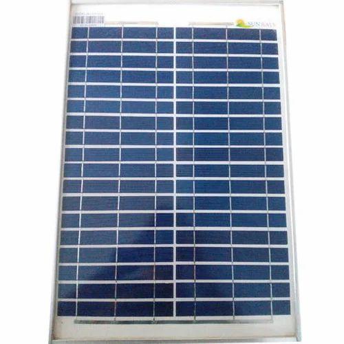 20 Watt Solar Panel At Rs 1300 Piece Vellatur Road Guntur Id 14002534762