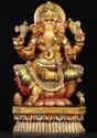 Hindu God Wooden Statue