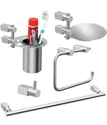 5 Pieces Bathroom Accessories Set