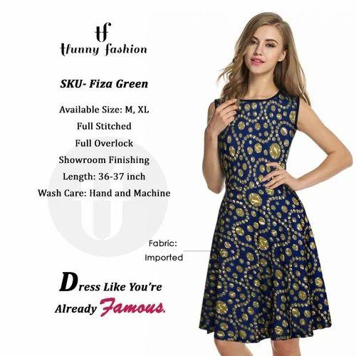 c0e297bf90f Silk Latest Fashion Western Dress