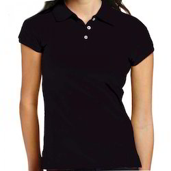 Ladies Collar T Shirt