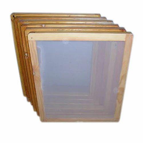 Screen Printing Wooden Frames, स्क्रीन प्रिंटिंग ...