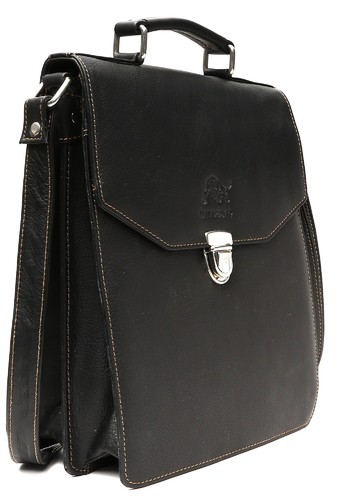 WILDBUFF Black Leather Fashion Bags 8796ddf9c0431