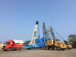 200Mt Tyre Mounted Telescopic Boom Crane