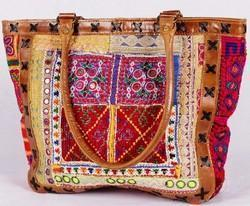 Ethnic Banjara Leather Bag