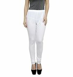 Straight Fit Plain Bornbeauty Cotton Ruby Cut Legging, Size: Free Size