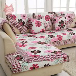 Printed Sofa Cover In Panipat Haryana Printed Sofa Cover Price In