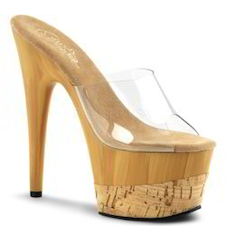 Cork High Heels Sandal