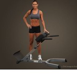 Body-Solid Back Hyperextension GHYP345, Usage:Gym And Office