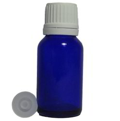 15 Ml Blue Essential Oil  Bottles with White Cap