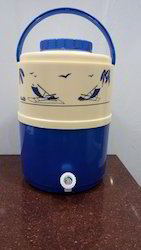 Blue And Cream Insulated Water Jug, Capacity: 15 Litre
