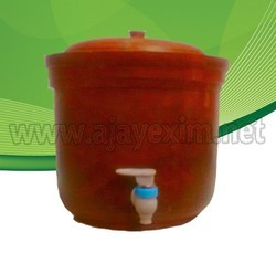 Clay Pot with Tap