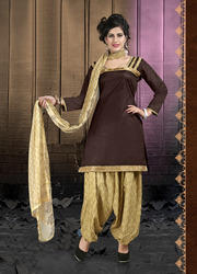 Full Sleeve Patiala Salwar Suit