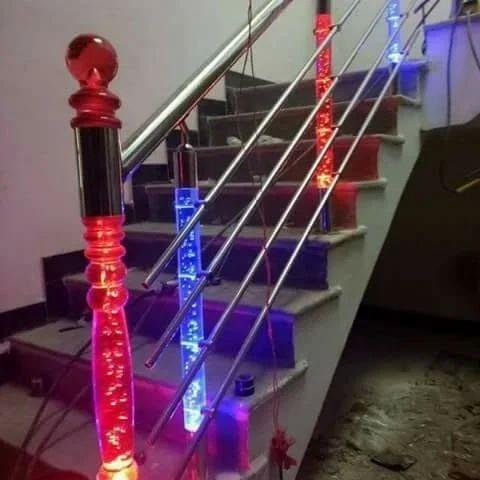 Stainless Steel Lighting Railing