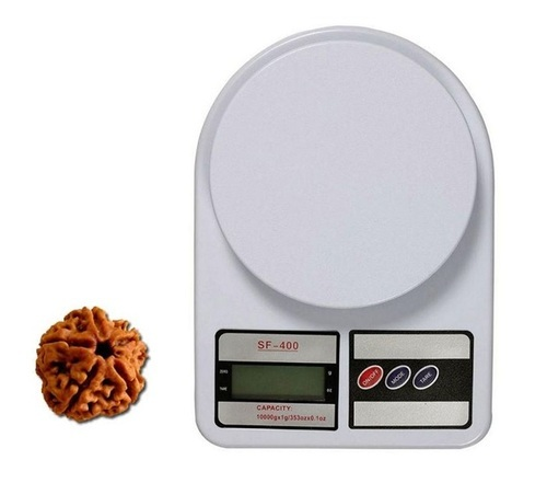 Virgo Sf 400 Digital Kitchen Weight Scale With Free Five Mukhi Rudradsha,  10 Kg