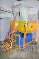 Dual Shaft & Cross Cut Shredder Machine