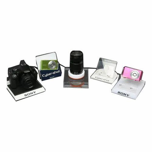 Countertop Acrylic Camera Display Stand