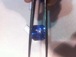 Blue Sapphire Octagon