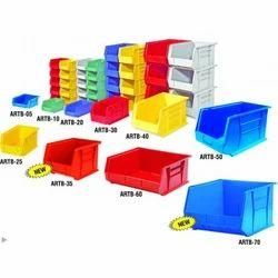 warehouse stackable bins