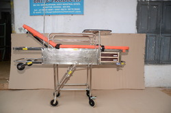 SS Patient Transfer Unit With Mirror Finish