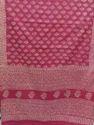 Cotton Handblock Print Saree With Blouse