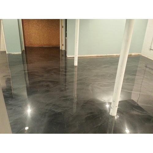 Acid Stained Polished Concrete Flooring