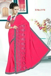 Fancy Work Sarees