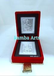 Silver Acrylic Folder