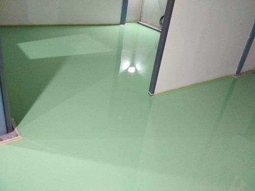 DR COAT Industrial Grade Epoxy Floor Coating, Packing Size: 20 L
