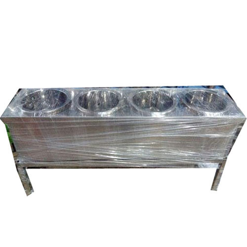 Attractive Stainless Steel Buffet Set