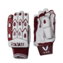 Strap White Bas Bow 20/20 Batting Gloves, For Sports, Size: 6 X 6 X 3 Inch
