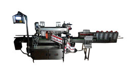 Premium Auto Front and Back Labeling Machine