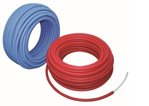 Weimar Pex Pipes With Corrugation Blue Red Size Diameter 1 2 Inch For Utilities Water Rs 115 Unit Id 12725103433