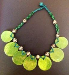 Blue Pottery Necklaces