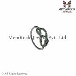 92.5 Sterling Silver Gemstone Ring Jewelry