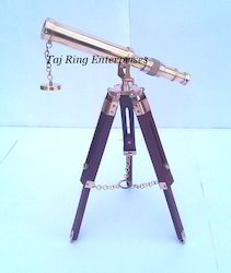 Vintage Table Top Nautical Telescope